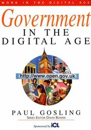 Cover of: Government in the Digital Age (Bowerdean's Work in the Digital Age Series) (Bowerdean's Work in the Digital Age Series)