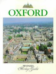 Cover of: Oxford (Pevensey Heritage Guides) | Michael Hall