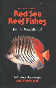 Cover of: The Diver's Guide to Red Sea Reef Fishes