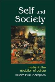 Cover of: Self and Society | William I. Thompson