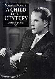 Cover of: A child of the century