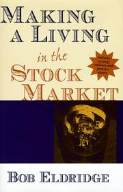Cover of: Making a living in the stock market