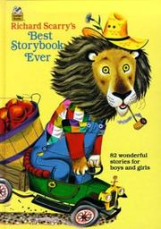 Cover of: Richard Scarry's best story book ever