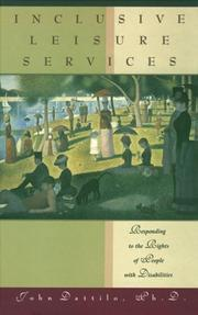 Cover of: Inclusive leisure services