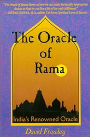 Cover of: The Oracle of Rama | David Frawley