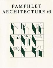 Cover of: The Alphabetical City (Pamphlet Architecture)