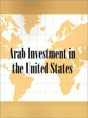 Cover of: Arab Investment in the United States | Inc. Conway Research