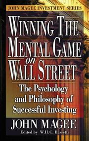 Cover of: Winning the Mental Game on Wall Street