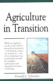Cover of: Agriculture in transition