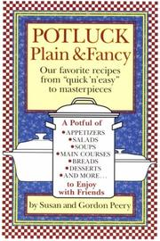 Cover of: Potluck plain & fancy