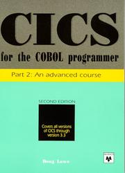 Cover of: CICS for the COBOL programmer