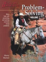Cover of: Problem-Solving, Volume 2 (Problem-Solving (Western Horseman)) | Marty Marten