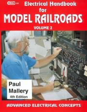 Electrical handbook for model railroads by Paul Mallery