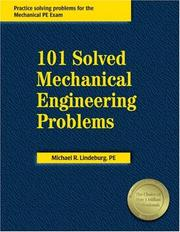 Cover of: 101 solved mechanical engineering problems