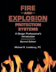 Cover of: Fire and explosion protection systems