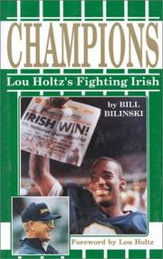 Cover of: Champions | Bill Bilinski