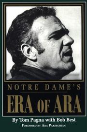 Notre Dame's era of Ara by Tom Pagna