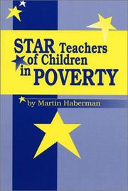 Cover of: Star teachers of children in poverty