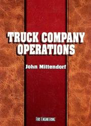 Cover of: Truck company operations