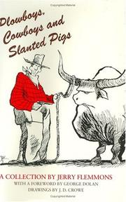 Cover of: Plowboys, cowboys, and slanted pigs