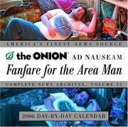 Cover of: Fanfare for the Area Man 2006 Day-by-Day Calendar