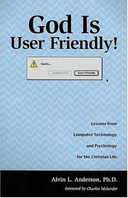 Cover of: God is user friendly!