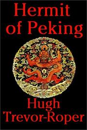 Cover of: Hermit Of Peking
