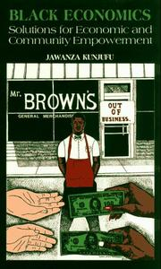 Cover of: Black Economics
