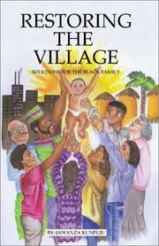Cover of: Restoring the Village