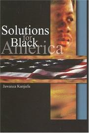 Cover of: Solutions for Black America