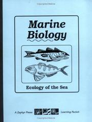 Cover of: Marine Biology | Joey Tanner