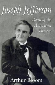 Cover of: Joseph Jefferson