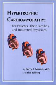 Cover of: Hypertrophic Cardiomyopathy | Barry J. Maron