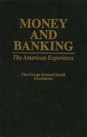 Cover of: Money and Banking | George Edward Durell Foundation