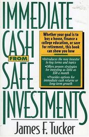 Cover of: Immediate cash from safe investments