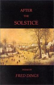 Cover of: After the solstice