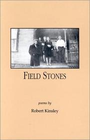 Cover of: Field stones