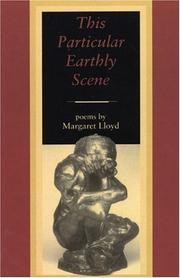 Cover of: This Particular Earthly Scene | Margaret Glynne Lloyd
