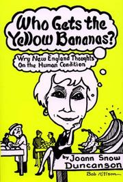 Cover of: Who gets the yellow bananas?