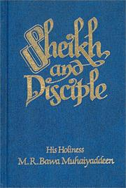 Cover of: Sheikh and disciple