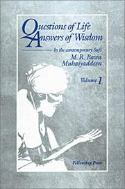 Cover of: Questions of life, answers of wisdom