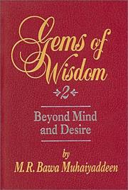 Cover of: Gems of wisdom