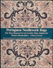 Cover of: Portuguese needlework rugs | Stone, Patricia