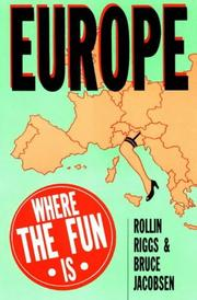 Cover of: Europe | Rollin Riggs