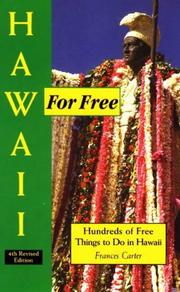 Hawaii for free by Frances Carter