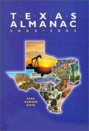 Cover of: Texas Almanac 2002-2003 |