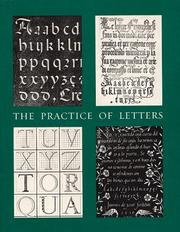 Cover of: The Practice of Letters