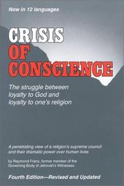 Cover of: Crisis of Conscience | Raymond Franz
