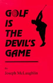 Cover of: Golf is the Devil's Game