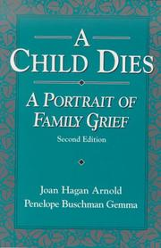 Cover of: child dies | Joan Hagan Arnold